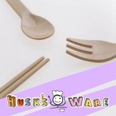 美國Husk'sWare兒童稻殼餐具組(三件組)