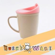 美國Husk'sWare兒童稻殼學習杯 水蜜桃