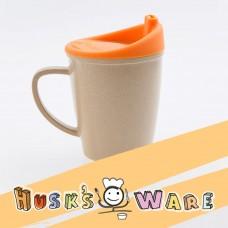 美國Husk'sWare兒童稻殼學習杯 香橙橘
