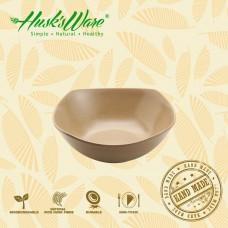 美國Husk'sWare稻殼餐具 優雅美學四方碗 中