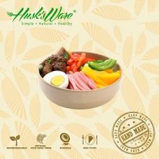 美國Husk'sWare稻殼餐具 韓式寬口湯飯碗 中