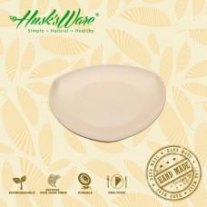 美國Husk'sWare稻殼餐具 食趣三角盤 中