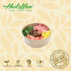 美國Husk'sWare稻殼餐具 原木造型木紋碗